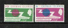 Cayman Is 1965 I.T.U. SG 184/5 MH