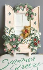 Michael's Summer Breeze Collection Teddy'S Lookout Green Hanger #3193 New in box