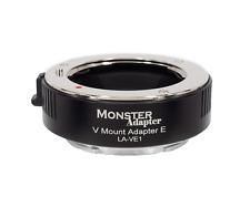 MonsterAdapter LA-VE1 Minolta Vectis V Mount - Sony E mount smart adapter