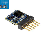 ESU 59827 LokPilot micro DCC Decoder V5.0 6-polig Direkt - NEU + OVP