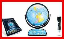 "Intelliglobe Interactive Blue Ocean World Globe Perfect Educational Toy4kids 12"""