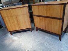 Matching Mid C Drinks Cabinet And Record Player  In Cabinet