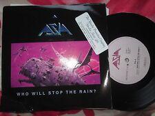 Asia Who Will Stop The Rain ? Musidisc 109527 Stickered UK 7inch Vinyl Single 45