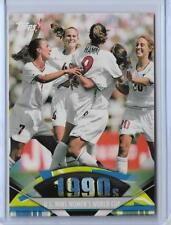 2011 TOPPS AMERICAN PIE CHASTAIN ~ MIA HAMM ~ WORLD CUP SOCCER CARD #177 ~ QNTY