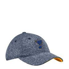 St Louis Blues Nhl Unisex Adidas Baseball Cap,Onesize,Denim/Yellow