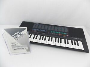 Casio Casiotone MT-260 Electronic Keyboard 210 Sound Tone Bank Vintage Japan 80s