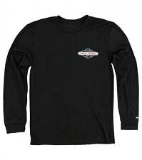 O'Neill SKILLSET PERFORMANCE Mens Poly Long Sleeve T-Shirt  Medium Black NEW