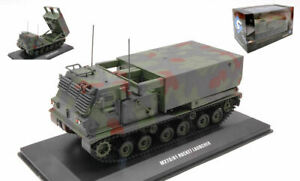 Miniature Wagons Chars Véhicules solido M270A1 Rocket Launcher Camouflage 1:48