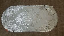 Lace Effect Table Runner coffee table Centre Cloth Dinning Decor SILVER