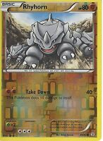 POKEMON GENERATION PACK CARD - RHYHORN 49/83 REV HOLO