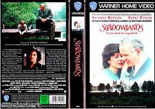 """VHS - """" SHADOWLANDS - Ein Geschenk des Augenblicks """" (1993) - Anthony Hopkins"""