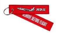 Remove Before Flight Anhänger - MD-11 McDonnell Douglas