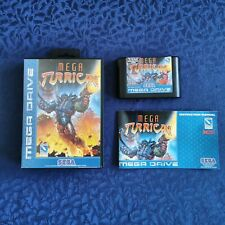 Mega Turrican - Sega Mega Drive (PAL)  CIB - Original