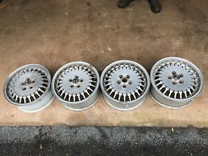 Alfa Romeo 90 or GTV6 wheels as pictured good condition