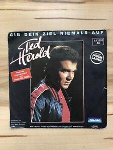 Ted Herold - Gib Dein Ziel niemals auf - /Der Kaiser von China Single Vinyl