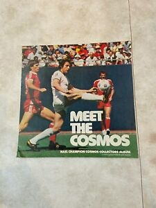 """1978 New York Cosmos Progresso """"Meet the Cosmos"""" with Chinaglia Autograph"""