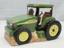 Gibson John Deere Farm Tractor Cookie Jar Farming Machinery