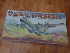 1/72 VINTAGE AIRFIX LOCKHEED C-130E HERCULES AIRCRAFT PLANE MODEL KIT 09001-0