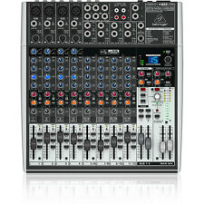 Behringer Xenyx X1622USB 16-Input USB Audio Mixer Interface Effects Mic Preamps