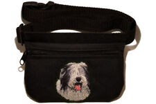 Bearded Collie gift -  Dog treat pouch/bag for dog shows & training.
