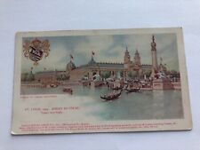 1904 Private Mailing Postcard-St Louis-Palace of Varied Industries-Regal Shoe Co