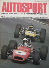 AUTOSPORT magazine 18 December 1969 featuring BLMC 1300 GT road test