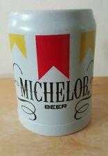 Vintage Ceramarte Michelob Beer Mug EUC Made in Brazil