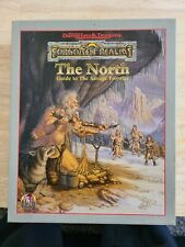 1x Forgotten Realms: The North: Guide to the Savage Frontier: Box Set 1142 Used
