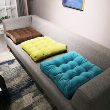 8 Couleurs Côtelé Tatami Futon Pad Peluche Thickening Seat Cushion pour Maison