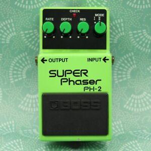 BOSS PH-2 Super Phaser Made in Japan Vintage Guitar Effect Pedal 651600