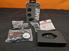 UCLEAR Amp Go Motorcycle Snowbile Helmet Bluetooth Intercom w/Mic Speakers Mount