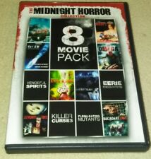 THE MIDNIGHT HORROR COLLECTION:  VOLUME 1    2-DVD DISC SET  8-MOVIE PACK HORROR