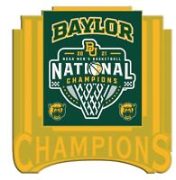 "FINAL FOUR BAYLOR BEARS CHAMPIONS ""GOLD"" STYLE PIN 2021 MARCH MADNESS BASKETBALL"