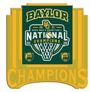 """FINAL FOUR BAYLOR BEARS CHAMPIONS """"GOLD"""" STYLE PIN 2021 MARCH MADNESS BASKETBALL"""