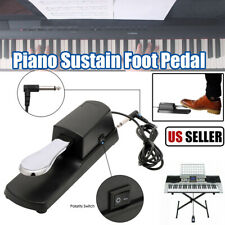 Universal Piano Sustain Pedal Foot Switch for Casio Yamaha Roland Keyboard USA