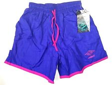 UMBRO SPORTS WEAR GIRLS YOUTH LARGE BLUE SOCCER SHORTS BRAND NEW WITH TAGS