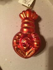 Patricia Breen Ornament Lobster Nwt 1996