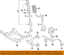 Lexus TOYOTA OEM 2006 GS300 Front Suspension-Strut 4852080174