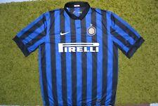 Inter Milan 2011 Home #4 J.Zanetti Shirt Size XL (IEV)