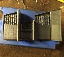Drill Bit Sets A-Z 1-60 1/16-1/2 Machinist Tool Metal Working Lathe Mill Press
