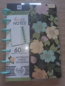 Happy Planner Mini Notebook W/60 Sheets-Homebody- Dot Lined Paper