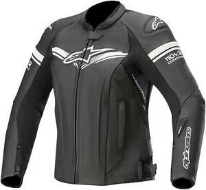 Alpinestars Stella GP-R V2 Tech Air Compatible Black Leather Motorcycle Jacket