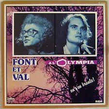 Font et Val 33 tours A l'Olympia 1978