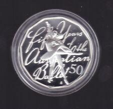 2012 Fine Silver 50 cent Coin 50th Anniversary Australian Ballet