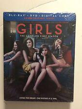 Girls: Season 1 (Blu-ray/DVD, 2012, 3-Disc Set) NEW