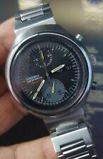 Vintage SEIKO TOKEI ZARA Automatic 6138-0020 Chronograph Men's Japan Watch