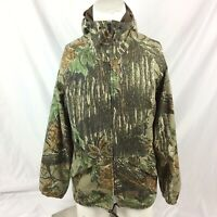 Walls Heritage Breathable Water-Pruf Jacket M Realtree Camo Hunting Hooded
