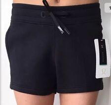 """Lululemon Size 4 NTS Short Black Run Shorts Turbo Speed Short Embrace 3"""" Yoga"""