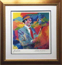 "LeRoy Neiman ""FRANK SINATRA DUETS"" Hand Signed Lithograph NEWLY CUSTOM FRAMED"