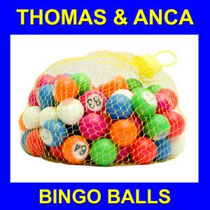 Bingo Balls for Bingo Cage 1-90 22mm Machine Or Check Tray Bingo Balls
